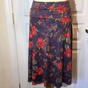 NWT LuLaRoe Azure Skirt - Small